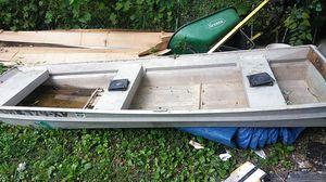 Aluminum boat for Sale in Columbus, OH
