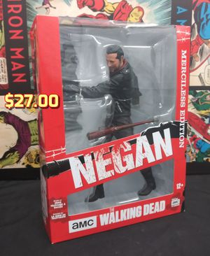 McFarlane Toys The Walking Dead 10.5 Inch Negan Figure | Merciless Edition for Sale in Alameda, CA