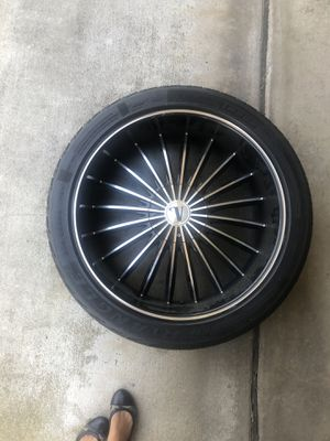 "Velocity 24"" Rims for Sale in San Diego, CA"