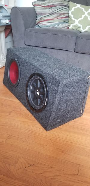 "Subwoofers 10"" kicker new brand, and dual. for Sale in St. Louis, MO"