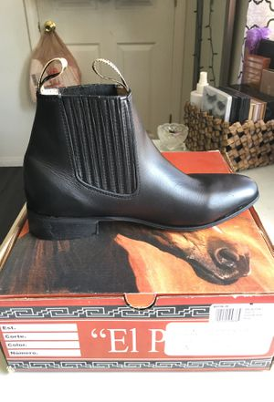 Leather boots baptism for Sale in Las Vegas, NV