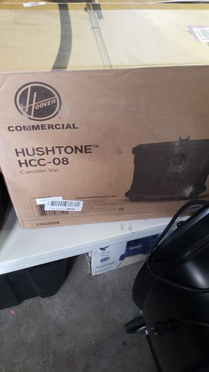 Hoover Commercial Hushtone Canister Vacuum HCC-08 for Sale in Turlock, CA