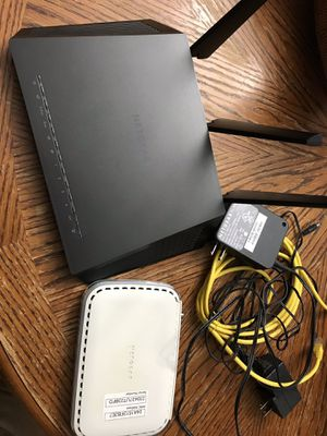 NETGEAR- Nighthawk AC1900 Dual-Band Wi-Fi Router for Sale in OLD RVR-WNFRE, TX