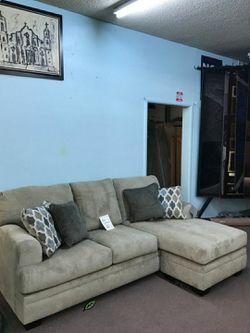 🍒$39 Down 🍒 Best OFFER. Dorsten Sisal Reversible Sofa Chaise for Sale in Beltsville,  MD