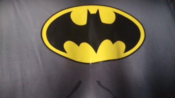 Batman shirt and cape. BAM!!!!