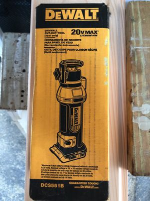 DEWALT 20volt drywall cut out tool. (Tool only) for Sale in Wilmington, MA