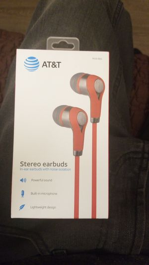AT&T Stereo earbuds for Sale in Chula Vista, CA