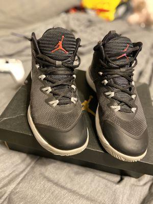 black jordan basketball shoes for Sale in San Antonio, TX