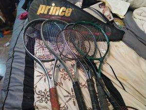 Prince 5 Tennis Rackets for Sale in Houston, TX