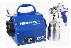 Brand New Fuji 2904-T70 mini-mite 4 platinum HLVP SPRAY SYSTEM for Sale in Westlake, MD