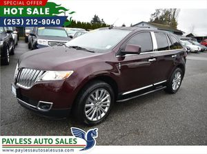 2011 Lincoln Mkx Sport Utility 4D for Sale in Lakewood, WA