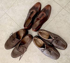 Designer brand. Men dressed shoes suE 10 M 3 pairs for Sale in Delray Beach, FL