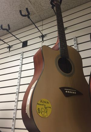 Kona acoustic guitar for Sale in Suitland-Silver Hill, MD