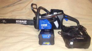 Kobalt chainsaw for Sale in Fort Worth, TX