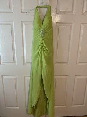 Lime green prom dress for Sale in Lakehurst, NJ