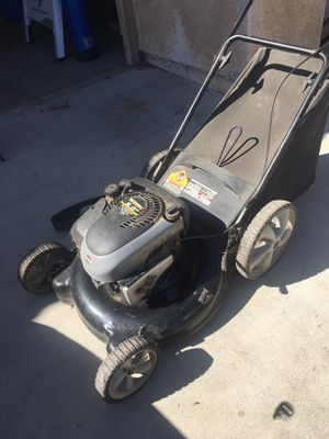 Lawn mower ( bring your own gas ) for Sale in Victorville, CA
