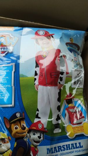 Paw patrol Marshall Halloween costume 3/4 year old for Sale in Hopkinton, MA