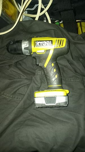 RYOBI DRILL AND BATTERY for Sale in El Cajon, CA