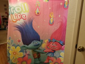 Trolls shower curtain for Sale in Benbrook, TX