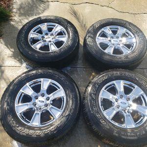 F150 FX4 Premium Chrome Wheels for Sale in San Diego, CA