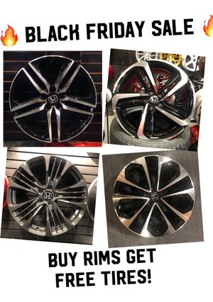 ** BLACK FRIDAY SALE! Buy rims get FREE TIRES ** (only 50 down payment / no credit check) for Sale in Wyomissing, PA