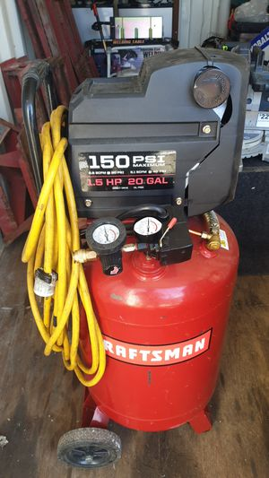 20 Gallon Craftsman air compressor for Sale in Bay Point, CA