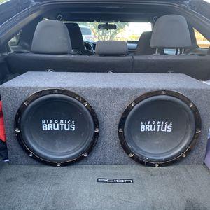 Hifonics Brutus SubWoofer Base for Sale in Suisun City, CA