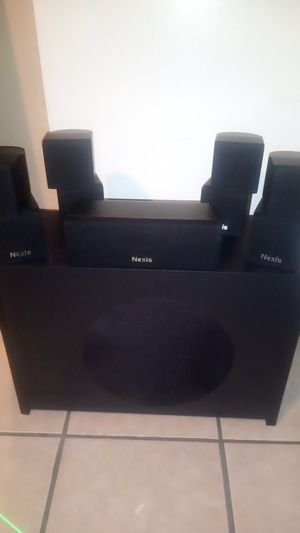 Nexis audio high definition home theater system L-7 pro series for Sale in Glendale, AZ