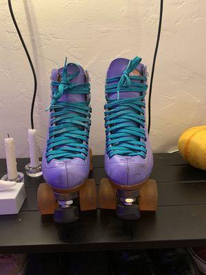 Moxi Beach Bunny Roller Skates Size 7 for Sale in Arcata, CA