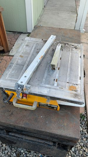 Small tile saw for Sale in Mount MADONNA, CA