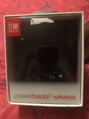 Great condition wireless Power beats 3 for Sale in Lynwood, CA
