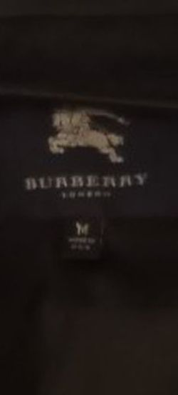 Womens Burberry Jacket Black Leather Size Medium I Told You That Was Lit for Sale in Nashville,  TN