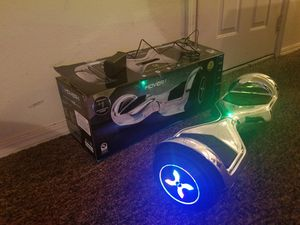Hover-1 Allstar Silver UL Certified Electric Hoverboard for Sale in Edmond, OK