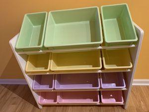 Toy Bin Storage Organizer for Kids for Sale in Naperville, IL