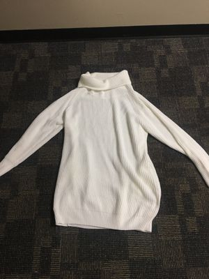 L/XL loose sweater dress with turtle neck for Sale in Nashville, TN