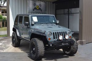 2013 Jeep Wrangler Unlimited for Sale in Houston, TX