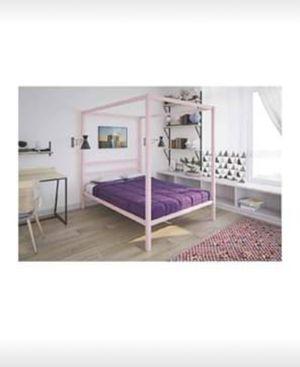 Brand New Pink Metal Bedframe for Sale in Alexandria, VA