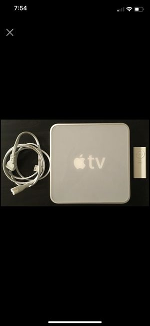 Apple TV with remote and hdmi cord for Sale in Roseville, MI