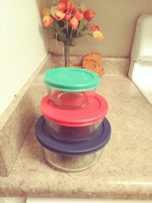 2 set of 12 pc Pyrex set brand new for Sale in MONTE VISTA, CA