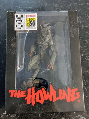 SDCC 2019 Scream Factory - The Howling Statue PCS Collectible. for Sale in Oceanside, CA