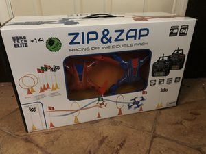 Zip Zap Racing Drones (blue & red drones) for Sale in Washington, DC