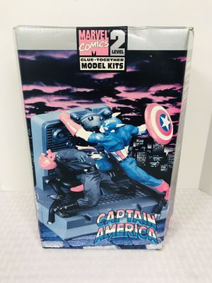 Vintage 1989 Toybiz Captain America Glue together Model Kit for Sale in Pawtucket, RI