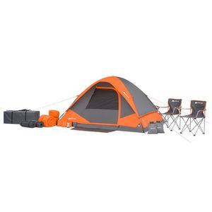 22-Piece Camping Tent Combo Good for 4 Persons Outdoor Use for Sale in Los Angeles, CA