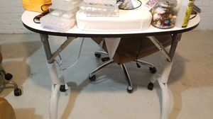 Nail table and chair for Sale in Hamilton Township, NJ