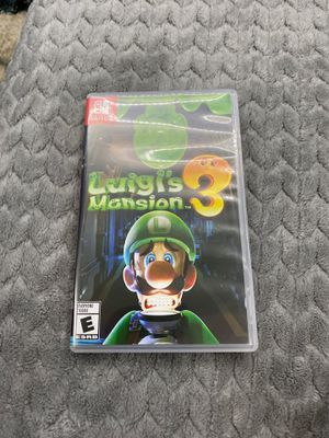 Luigis mansion 3 trade for Zelda botw or Mario odyssey for Sale in West Covina, CA