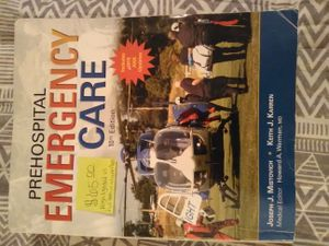 EMT EMS BOOKS PREHOSPITAL EMERGENCY CARE 10TH EDITION for Sale in Melder, LA