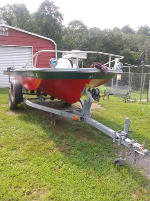 1969 jon boat/2012 boat trailer for Sale in Hedgesville, WV