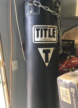 Heavy bag, punching bag for Sale in Alpine, CA