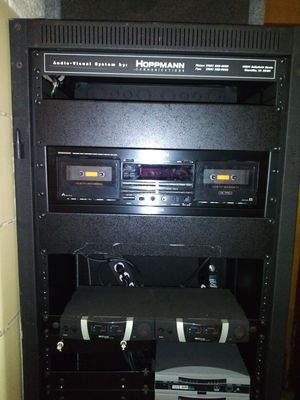 hoppmann audio visual system with speaker for Sale in Greenbelt, MD