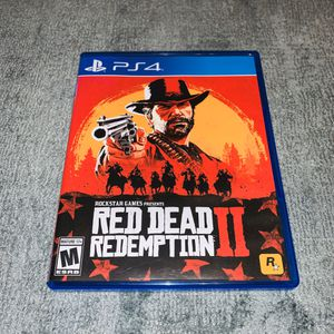 Red Dead Redemption 2 PS4 for Sale in Cypress, TX